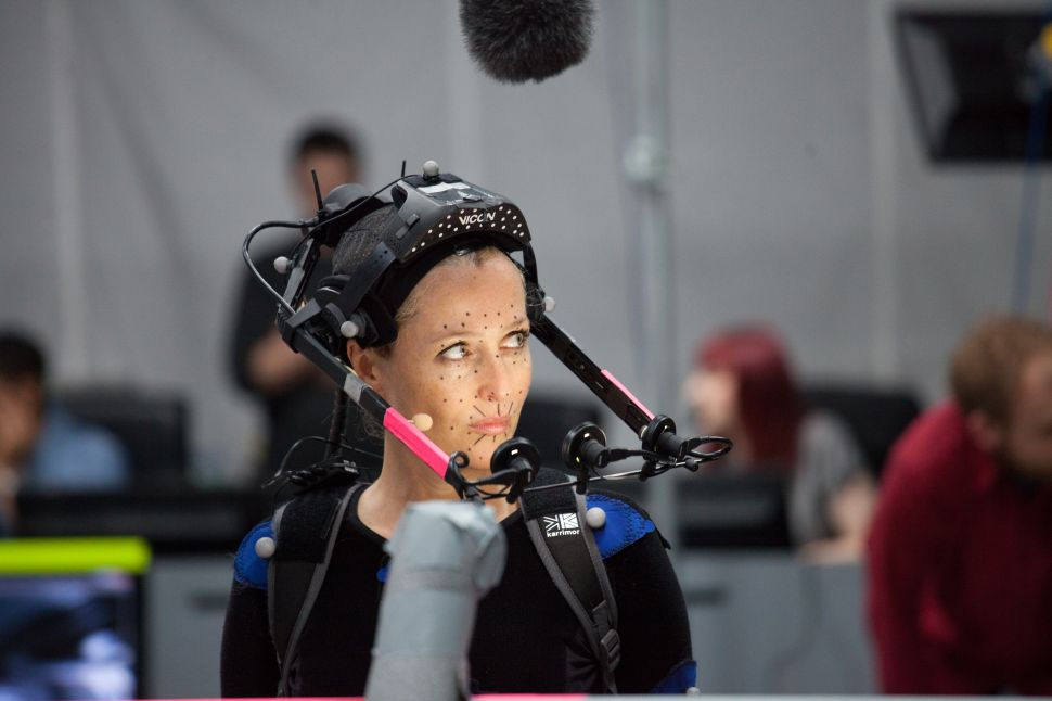 See 'The X-Files' Gillian Anderson Translated via Motion Capture to a Video Game