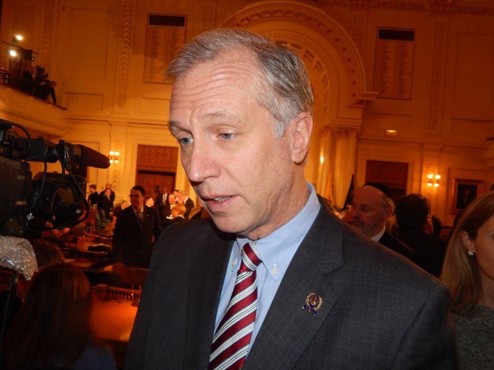 WATCH: Wisniewski Reacts to Christie's State of the State Speech