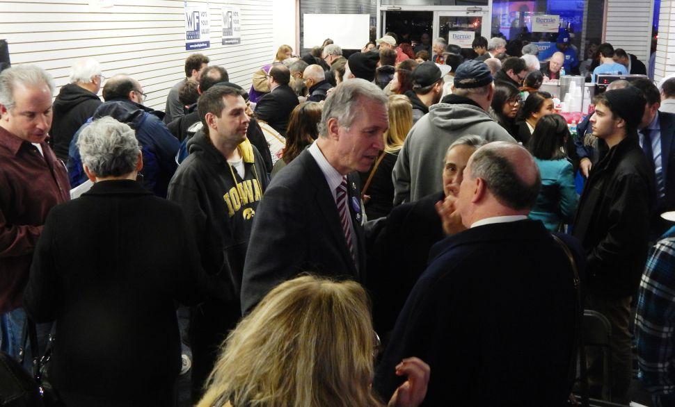 Helmed by Wisniewski, Bernie Sanders for NJ Launches in Sayreville
