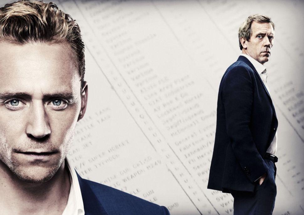 House's Hugh Laurie Jokes That Watching 'Virile' Tom Hiddleston Was 'F-ing Galling'