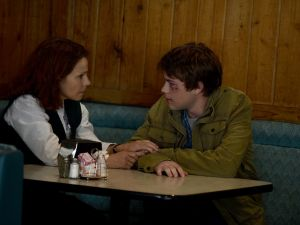 Lili Taylor and Connor Jessup in <i<American Crime.