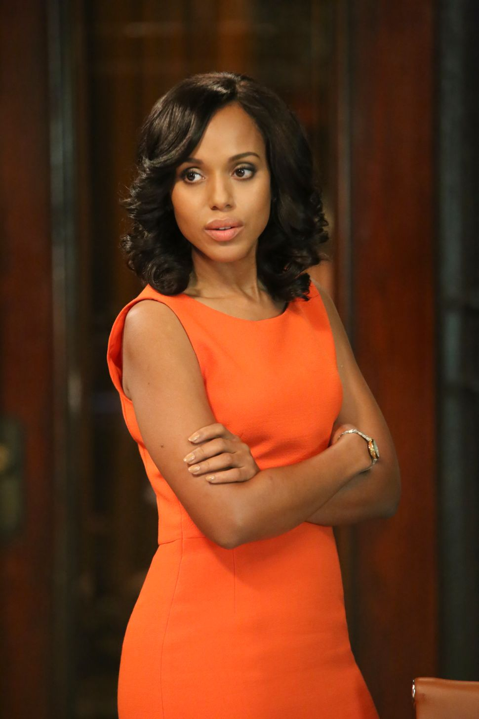 Olivia Pope Chooses Color in 'Scandal'-ous Plot Twist