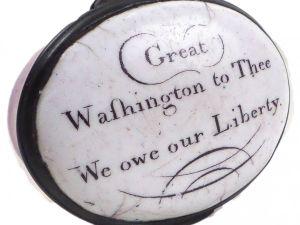 George Washington Battersea Box.