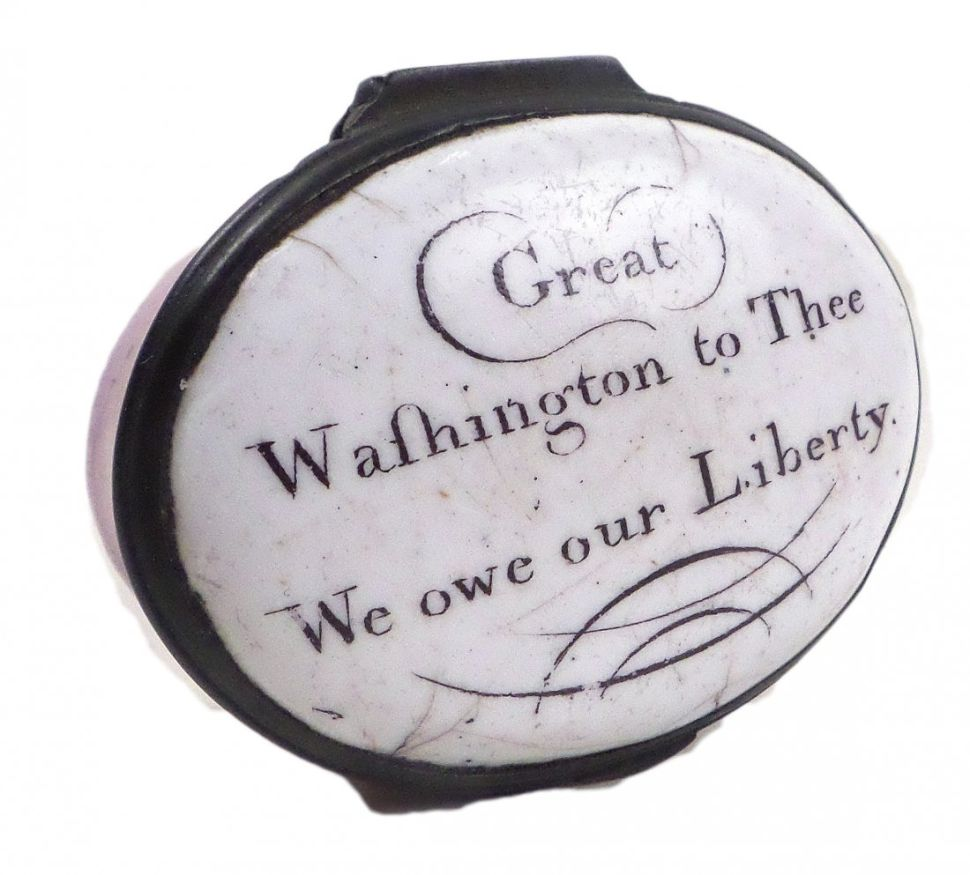 Oddball Campaign Memorabilia From the Elections of Washington and Lincoln for Sale
