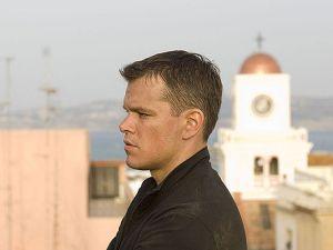 Matt Damon as Jason Bourne, Hollywood's most famous amnesiac.