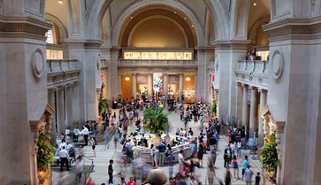 The Great Hall at the Metropolitan Museum of Art.