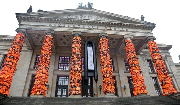 Ai Weiwei's Berlin Life Jacket Installation, Prado Pulls Bosch Paintings—and More