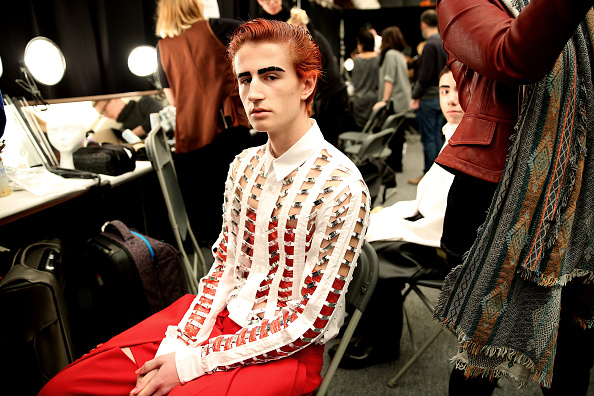 Scuffed Up Gangs of Pilgrims Inspired the Beauty Look at Hood By Air