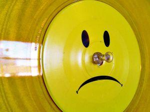 Unhappy vinyl.
