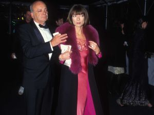 Dr. David Shaffer and his now ex in a past era when Anna Wintour had brown hair.
