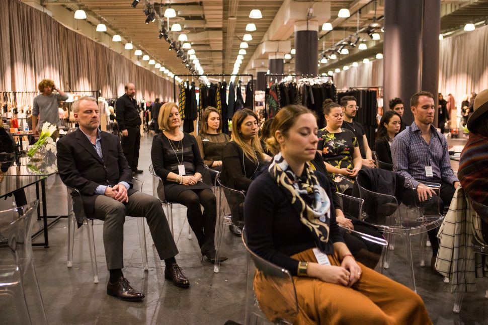 Is It Possible to Find Inner Peace at a Fashion Show?