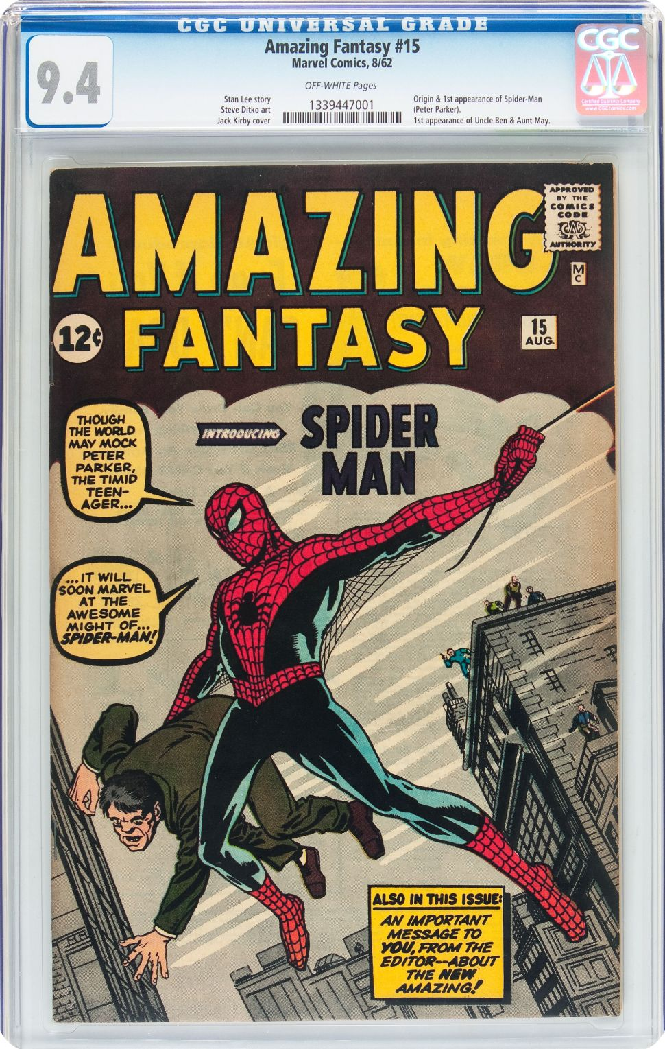 Comic With Spider-Man's First Appearance Could Be the Hero's Most Expensive Ever
