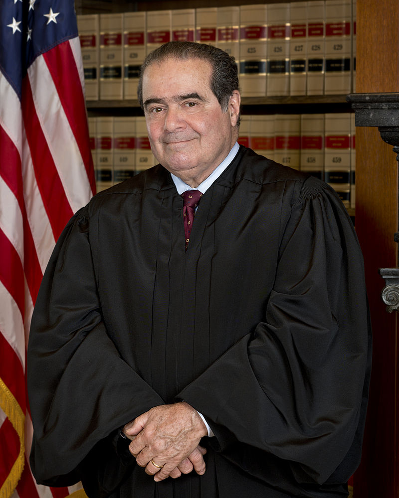 New Jersey Native Justice Antonin Scalia has Died