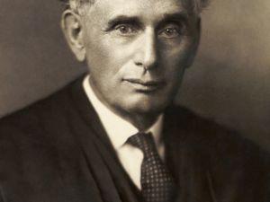 Louis Brandeis , early 20th Century. (Photo: Wikipedia)