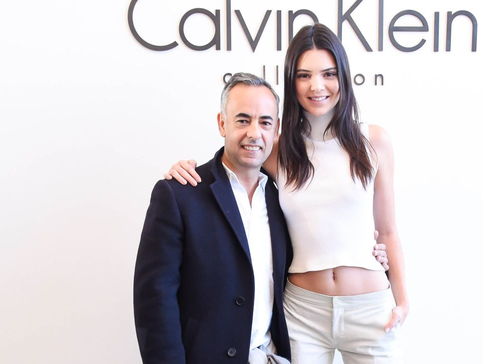 Kendall Jenner Clocks the Faux From the Frow at Calvin Klein
