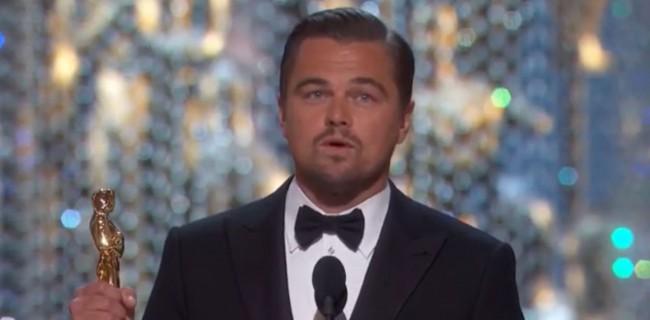 A Long-Running Meme Dies as Leonardo DiCaprio Wins First Oscar