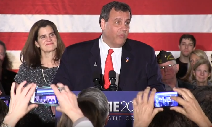 WATCH: Christie's Concession Speech in New Hampshire