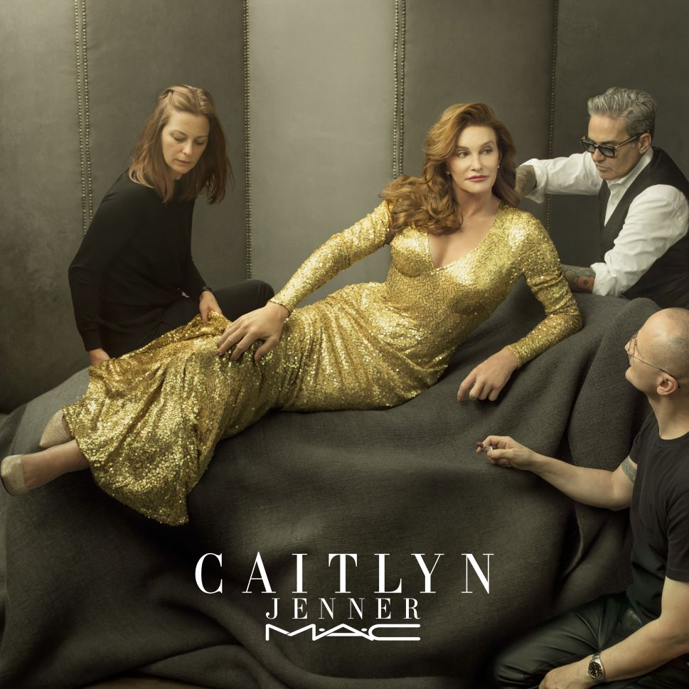 Caitlyn Jenner and MAC Pair Up for a Makeup Match