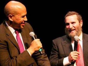 Rabbi Shmuley/ Cory Booker