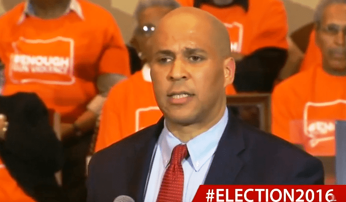 Booker on Fire for Clinton in South Carolina