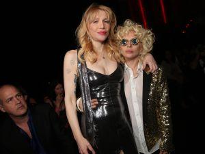 Courtney Love and Lady Gaga (Photo: Courtesy Saint Laurent).