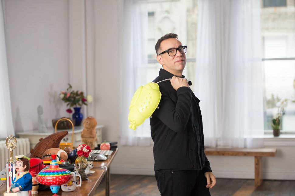 Not Sure What to Wear to NYFWM Today? Let Fred Armisen Help