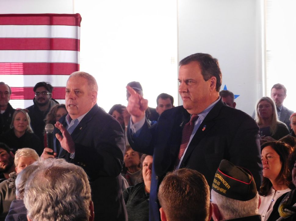 At Town Hall, Christie Takes Victory Lap Over Rubio Debate Performance