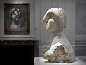 "Another version of ""Sculpture of a Head: Marie-Thérèse,"" on view at Acquavella Galleries. (Photo: Acquavella Galleries)"