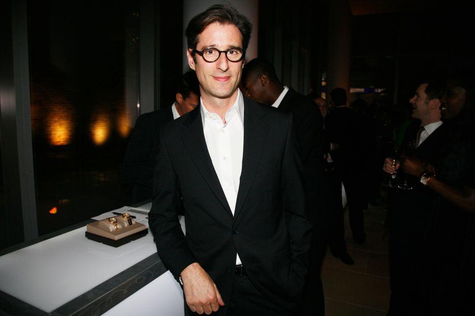 Carolina Herrera CEO François Kress Celebrates Fashion Week With a New Co-op