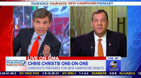 NH Poll: Christie in Sixth Place as Rubio Leapfrogs Over Cruz