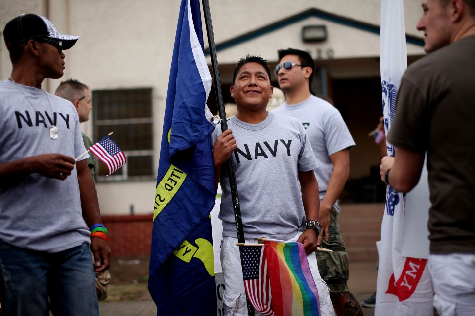 In New York, LGBT Veterans and Advocates Call for 'Restoration of Honor'