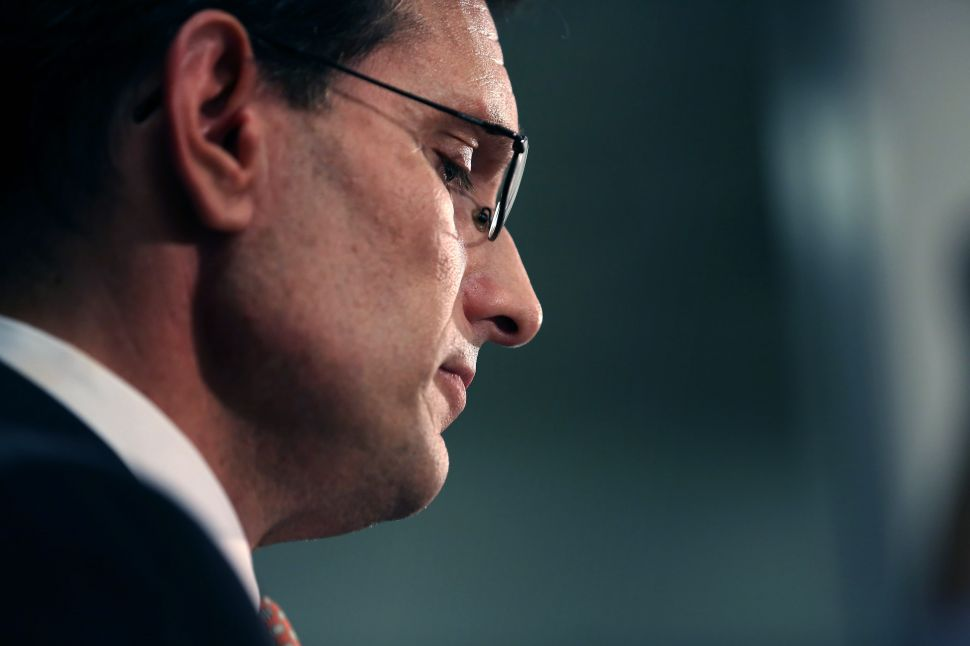 Should Have Seen It Coming: How Eric Cantor's Fall Presaged the Rise of Donald Trump