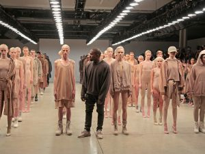 Kanye West debuts Yeezy Season 2 (Photo by Randy Brooke/Getty Images for Kanye West Yeezy).