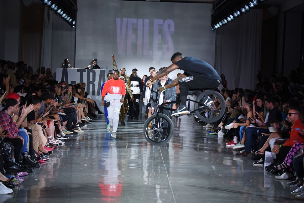 VFILES, Public School and Fitbit Go Tech-Centric This Fashion Week