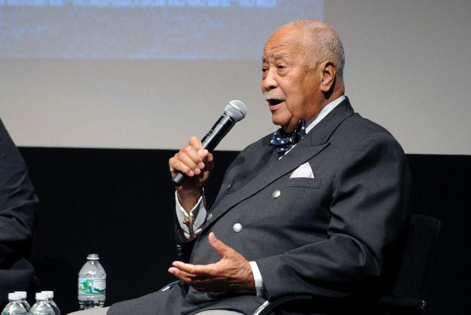 Former Mayor David Dinkins Hospitalized for Pneumonia