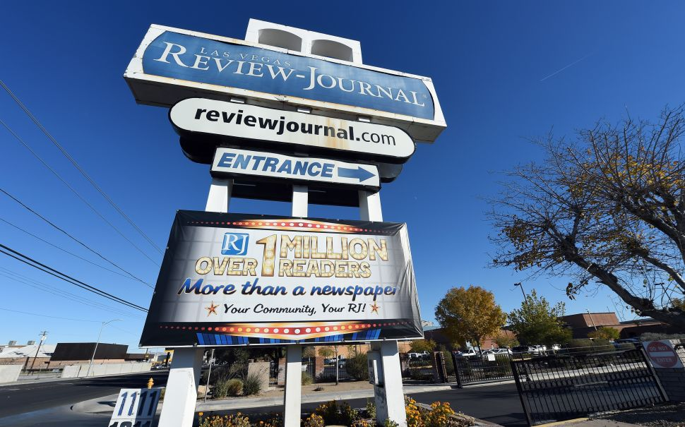 Las Vegas Review-Journal Names New Editor