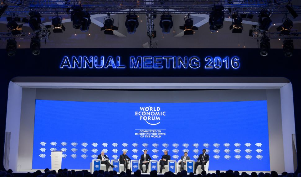 Why the World Economic Forum Is Proof That Top-Down Planning Can't Fix Problems