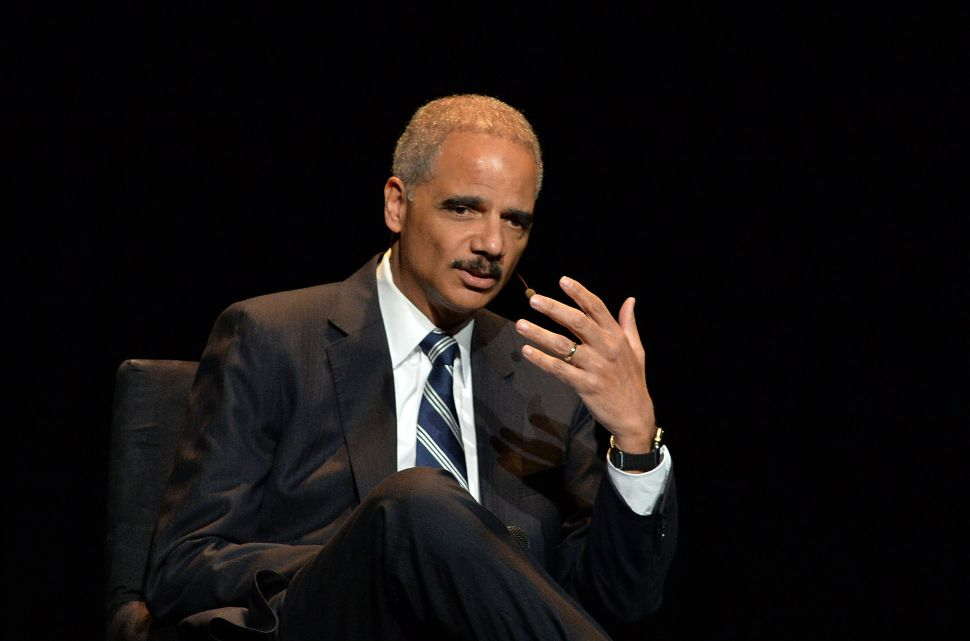 Eric Holder: Obama Doesn't Have to Endorse Hillary Right Now