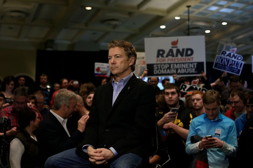 Rand Paul Finally Drops Out of Presidential Race