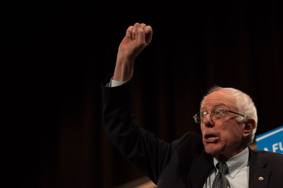 Bernie Sanders Is Now Fundraising Off Lloyd Blankfein