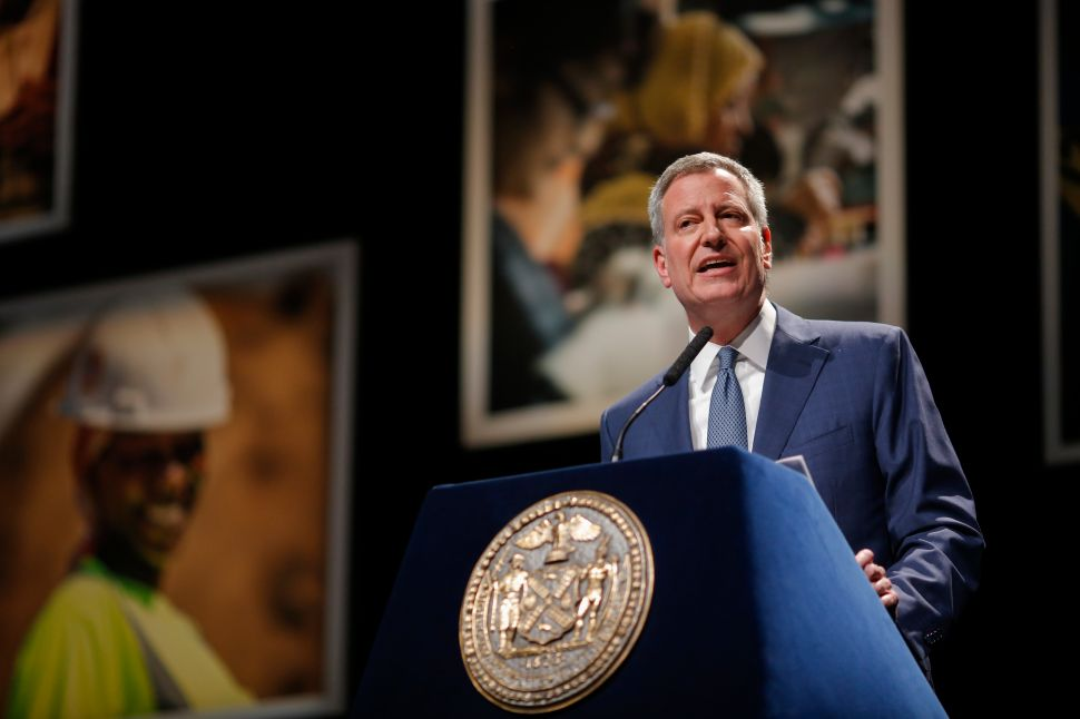 After Meeting with Feds, de Blasio Vows 'It Will Be Quite Clear' He Acted Properly