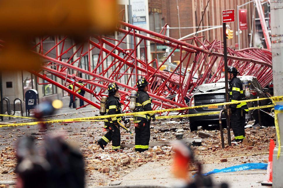 De Blasio Plans Inspection 'Blitz' to End Construction Site Carnage