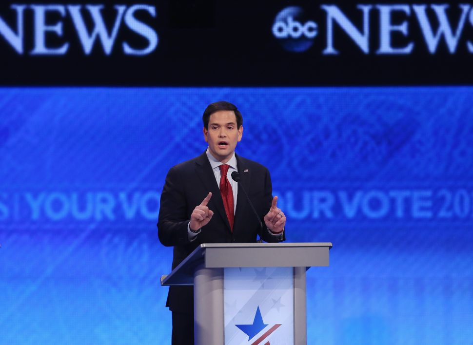 Marco Rubio Had a Really Rough Debate. Does It Matter?