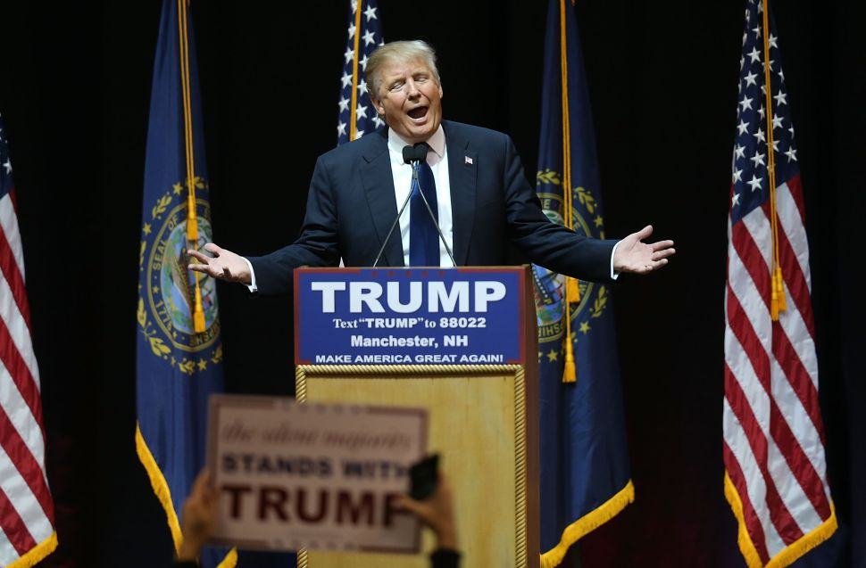 If Donald Trump Doesn't Win New Hampshire, He Won't Be Donald Trump Anymore