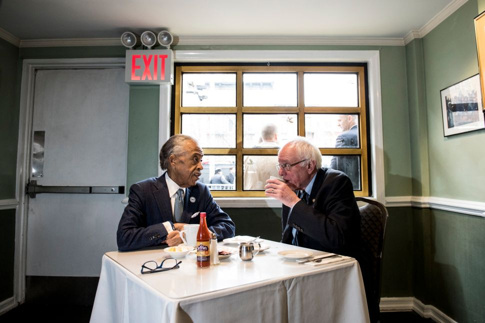 'We Will Not Be Ignored': Al Sharpton Meets With Bernie Sanders in Harlem