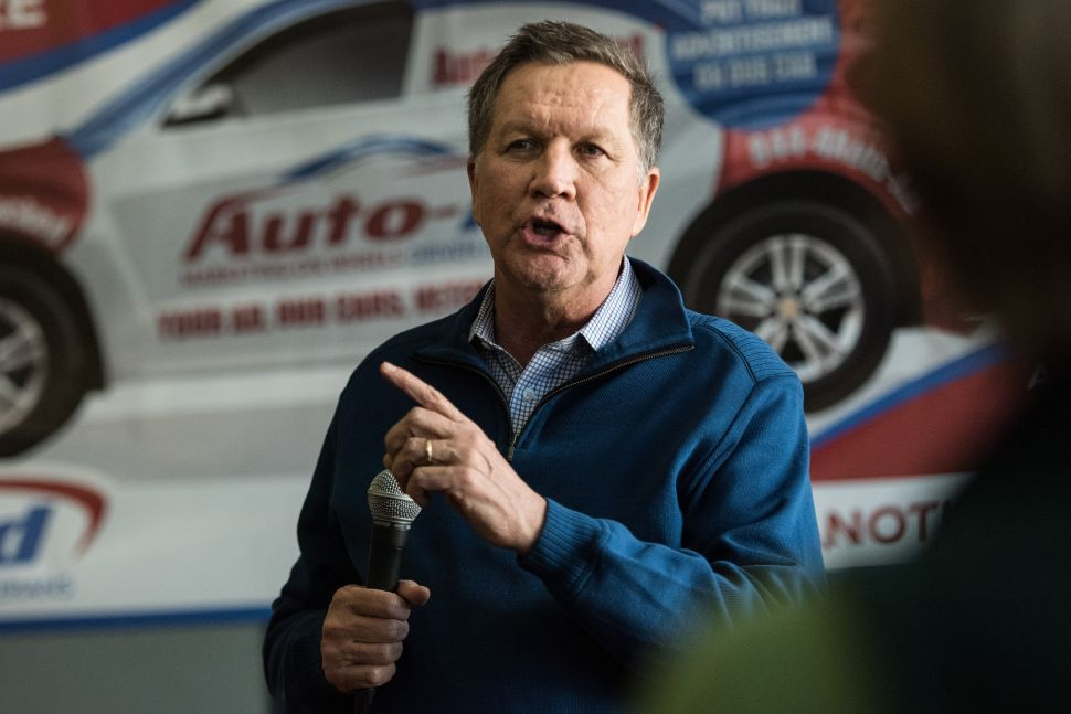 Kasich Camp: Fundraising Has Been 'Gangbusters' Since Strong New Hampshire Showing
