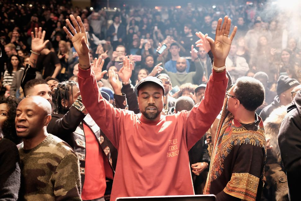 Kanye/ Robert Wilson Art Installation Postponed Till Next Year