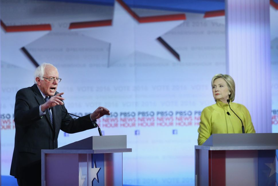 Bernie Block—How Sanders' Continued Candidacy Keeps the Democratic Party Tacking Left