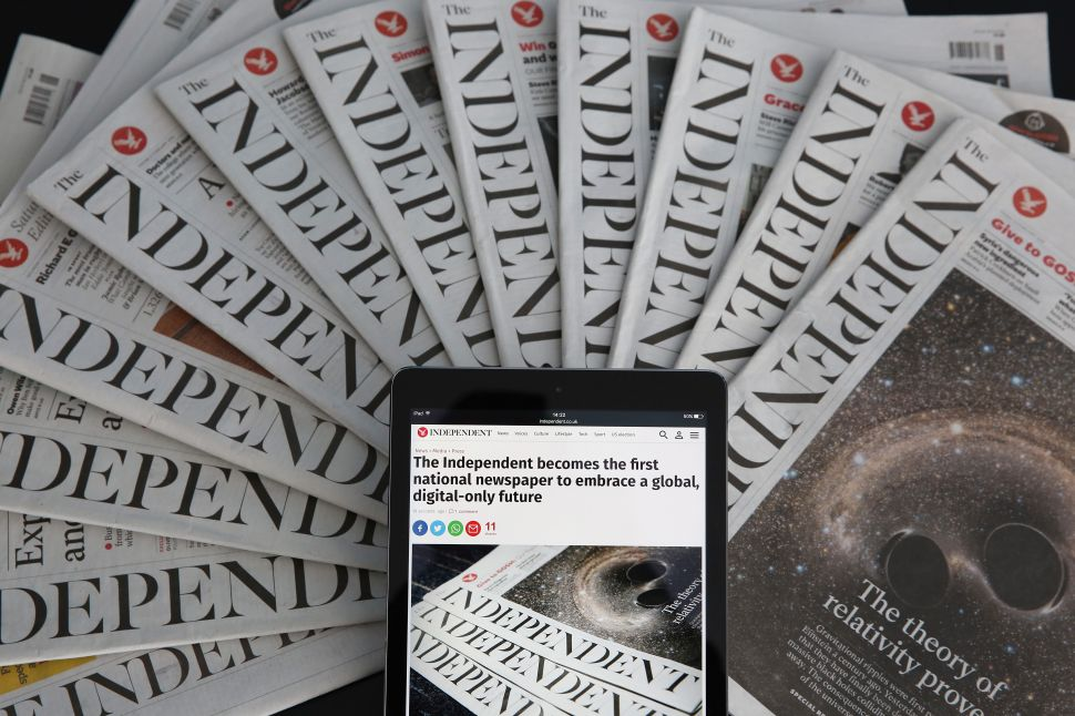 Stop the Presses: The Independent Drops Print for Digital-Only