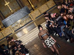 A holy moment from Alexander Wang